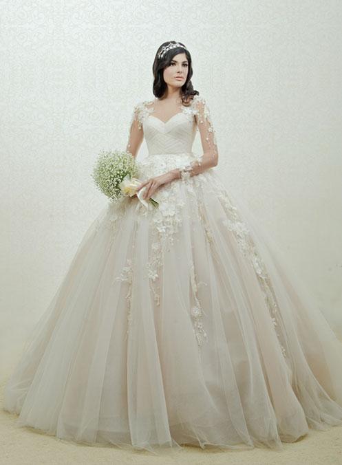 62216289348 ivory bridal collection wedding dress jakarta classic
