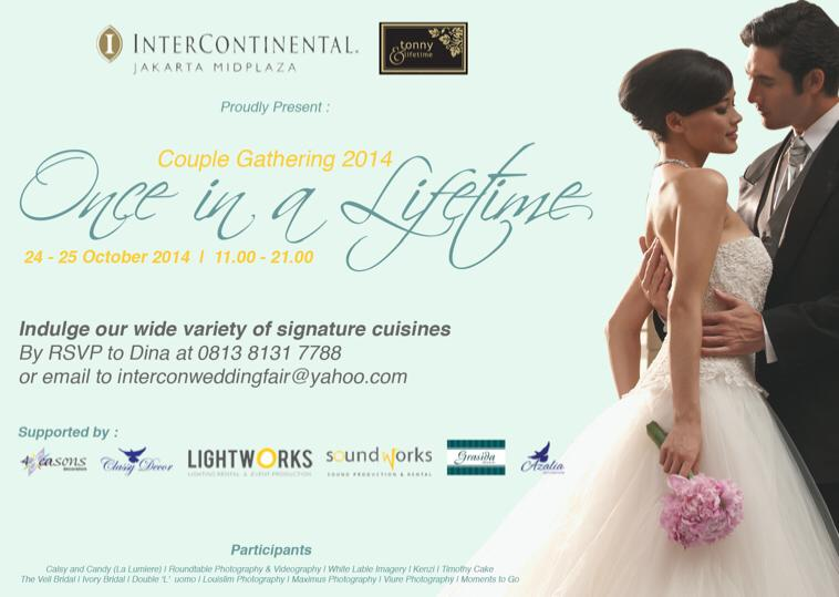 Ivory Bridal Events 2014 Once in A Life Time Wedding Event Jakarta Indonesia