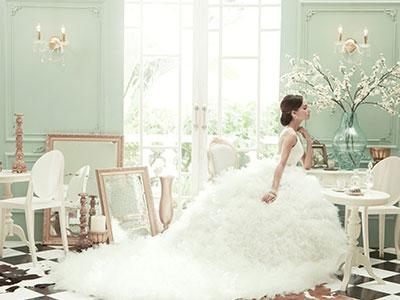 Ivory Bridal Gown, Gaun Pernikahan, Bridal Jakarta, Classic Timeless Wedding Dress, Timeless Wedding Gown