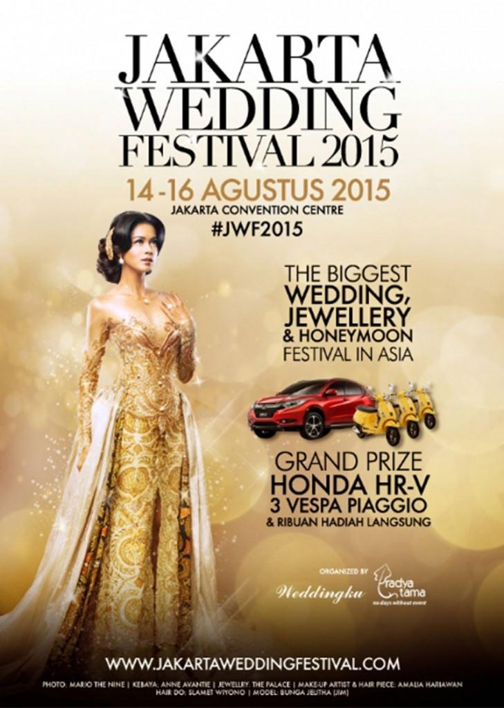 Wedding Festival, Wedding Show, Jakarta Wedding Festival 2015, Jakarta Event