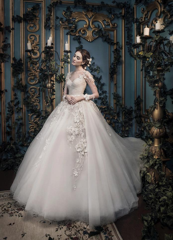 Ivory Bridal Collection, Photo Session, Best Bridal Jakarta, Romantic Timeless, Victorian Wedding