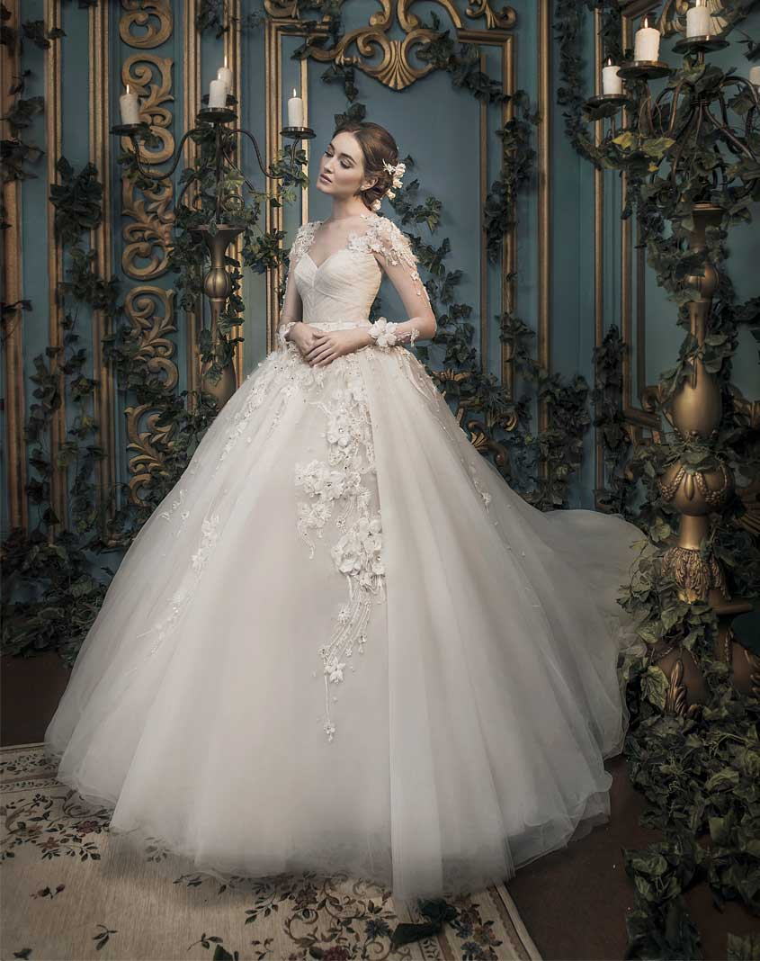 Timeless Wedding Dress, Ivory Bridal Gown, Ivory Bridal Collection, Bridal Jakarta, Gaun Pengantin, Wedding Dress