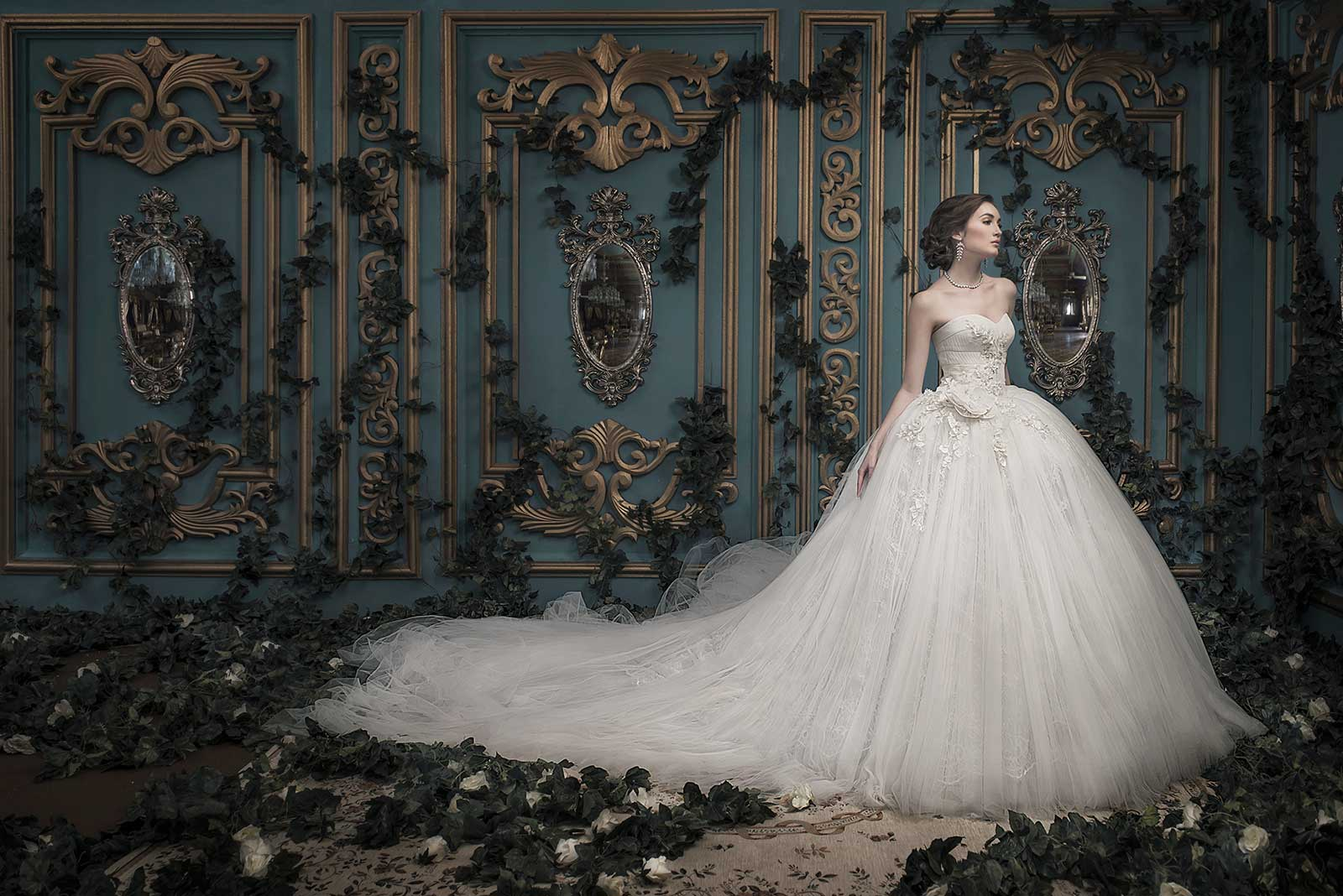 ivory wedding dress Ivory Willow Lace Peplum Wedding Dress BHS