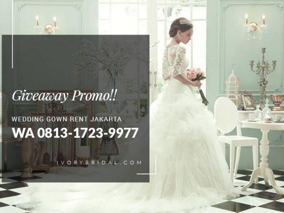 Sewa Gaun Pengantin, Bridal Jakarta, Baju Wedding