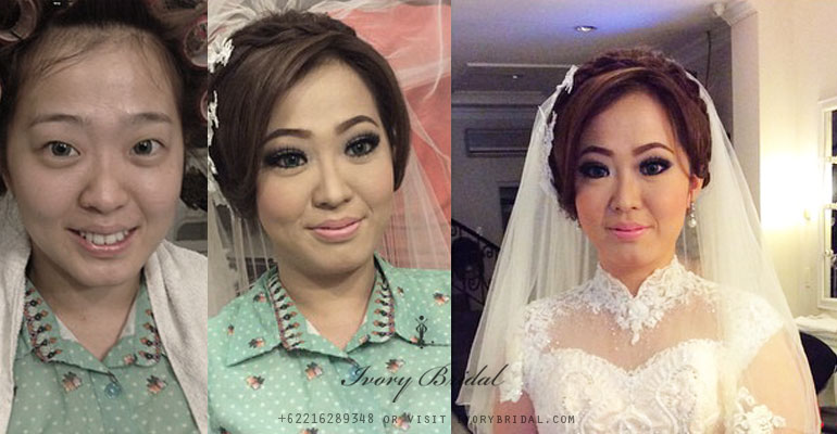 Before After Ivory Bridal Salon Hair Do Make Up November 2014