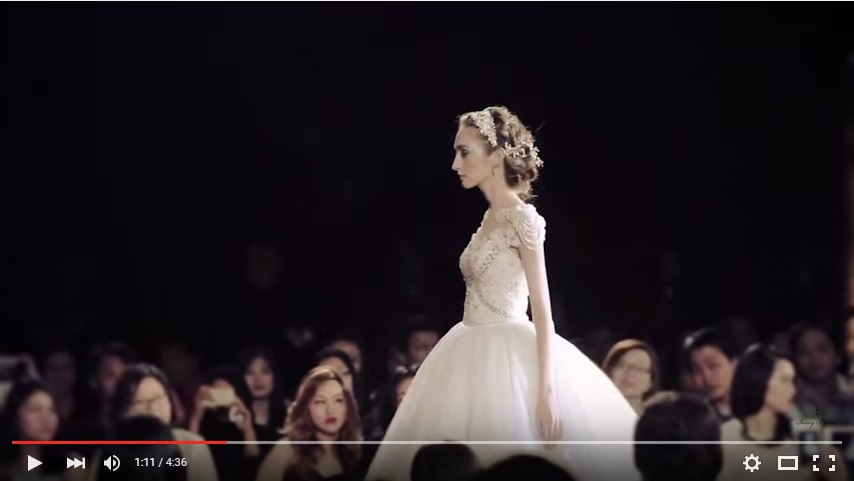 Wedding Fashion Show 2015 Ritz Carlton Ivory Bridal Jakarta
