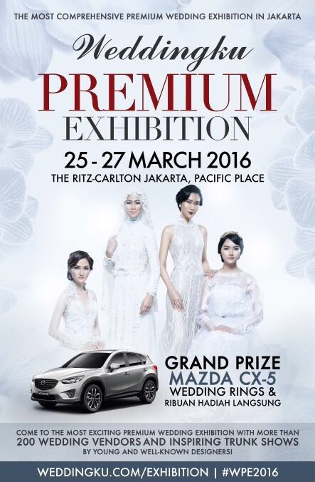 Ivory Bridal Collection Event Jakarta Weddingku Premium Exhibition 25-27 march 2016 hotel ritz carlton pasific place