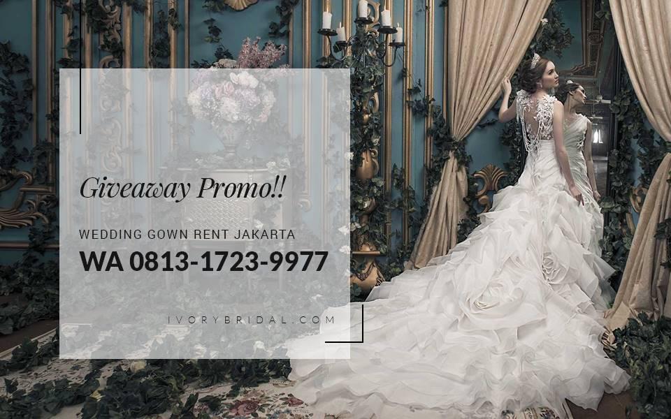 Promo Wa 0813 1723 9977 Wedding Dress Rental Jakarta Ivory Bridal