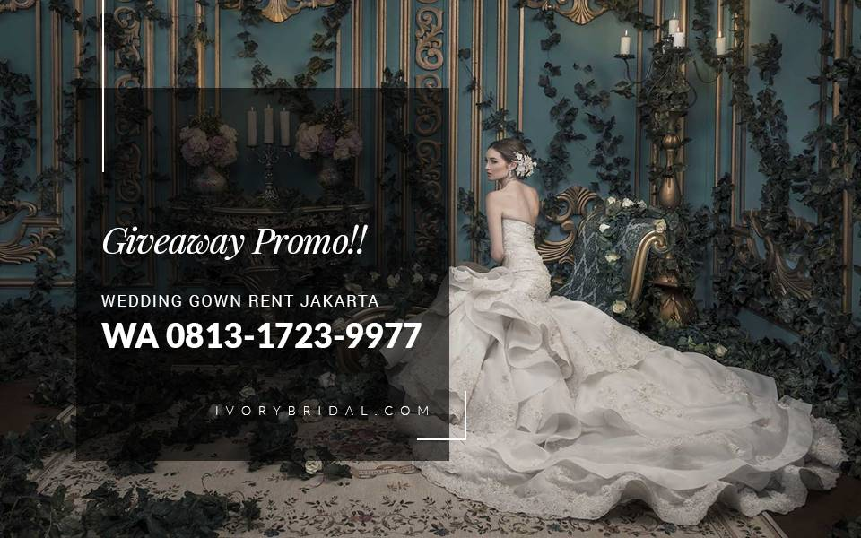 Wedding Dress Shop in Jakarta