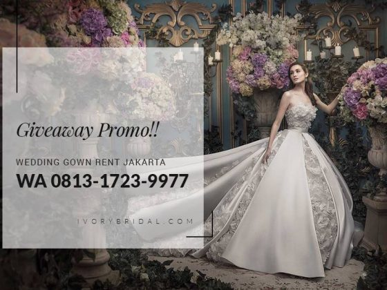 Wa 0813 1723 9977 Wedding Gown Rent Jakarta Ivory Bridal