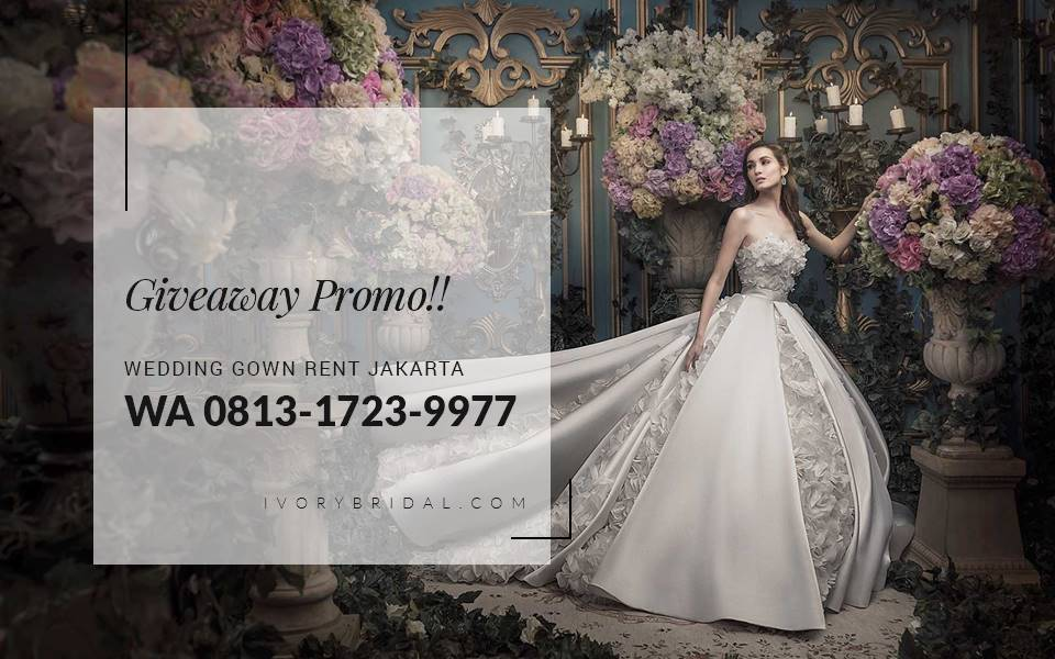 Sewa Baju Pengantin Murah, Bridal Dress, Wedding Gown
