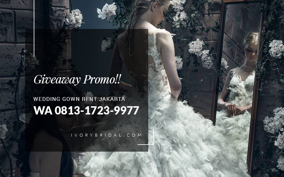 Sewa Gaun Pengantin Jakarta, Baju Pengantin Putih