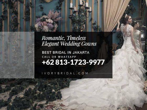 Bridal Jakarta, Gaun Putih Pengantin