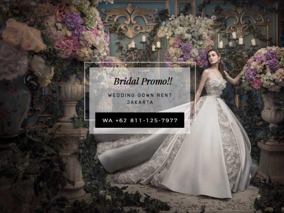 Wedding Gown Rent Jakarta