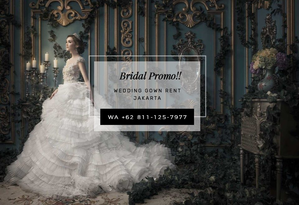 Wedding Dress For Sale Jakarta