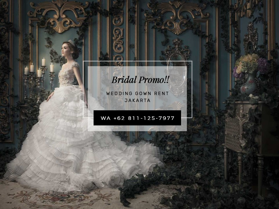 Wa 0811 125 7977 Wedding Gown Rent Jakarta Ivory Bridal